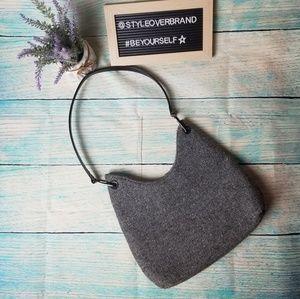 Bechamel  grey wool shoulder bag